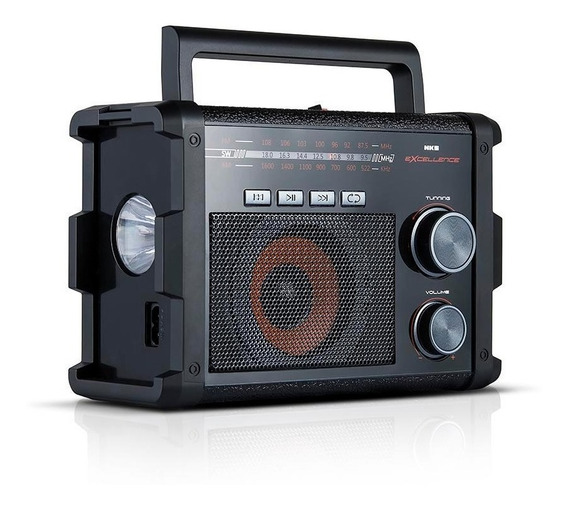 Radio Portatil Ac 128 Am/fm/sw Nks Excellence Biv