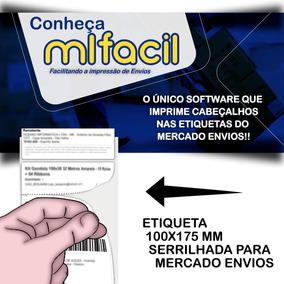 Mlfacil Software De Impressão De Mercadoenvios Com Cabeçalho