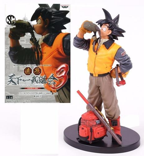 Goku Cantimplora Dragón Ball Super Banpresto + Obsequio