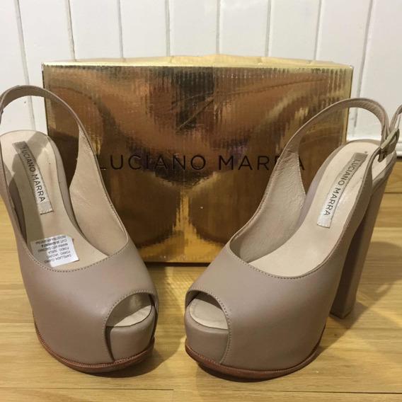 Zapatos De Cuero Luciano Marra