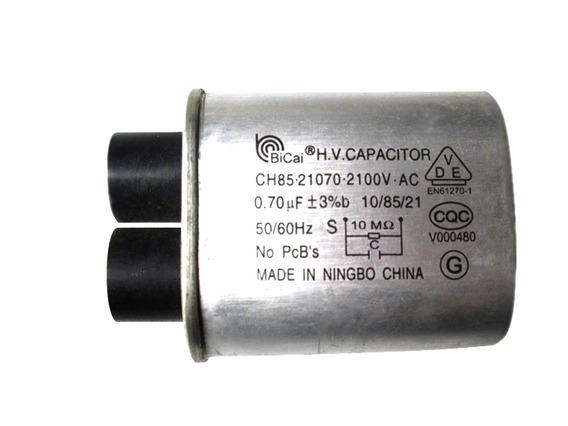 Capacitor Alta Tensão P/forno Microondas 0,70uf 2100v C/4 Ter. Grosso + 1 Diodo Duplo 2cl3512h+ts01 + 1 Fusível 20 Amp