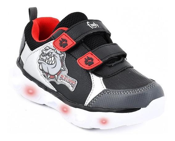 Zapatillas Footy Hi! Bulldog Con Luz Al Pisar Fx341 (0341)