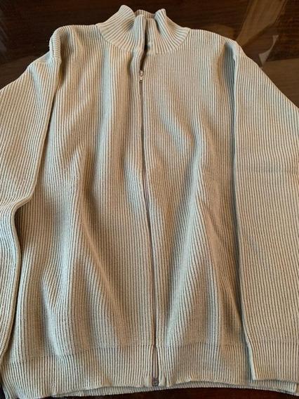 Sweater Kevingston Para Hombre Beige De Algodón
