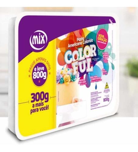 Imagen 1 de 2 de Pasta Americana Mix Color