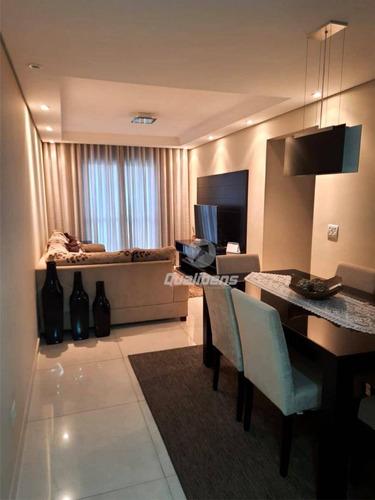 Imagem 1 de 20 de Apartamento Com 2 Dormitórios À Venda, 71 M² Por R$ 320.000,00 - Parque São Vicente - Mauá/sp - Ap0351