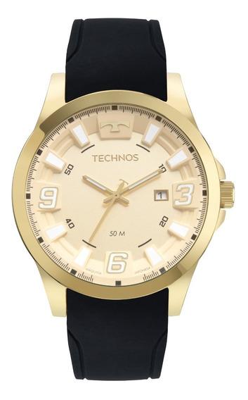 Relógio Technos Racer Dourado Masculino 2115mxt/2p