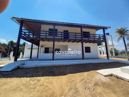 Imagem 1 de 30 de Casa Com 3 Dormitórios À Venda, 306 M² - Jacaroá - Maricá/rj - Ca4756