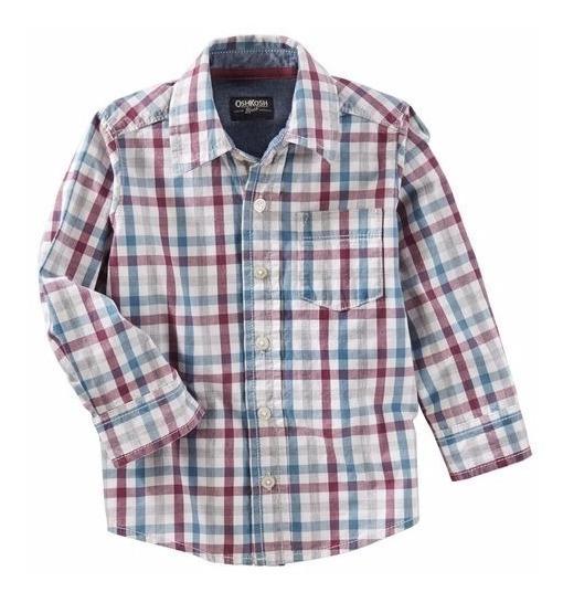 Carters / Oshkosh Camisa Mangas Largas