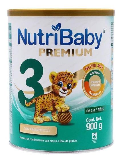 Leche de fórmula en polvo Ethical Pharma NutriBaby 3 en lata de 900g