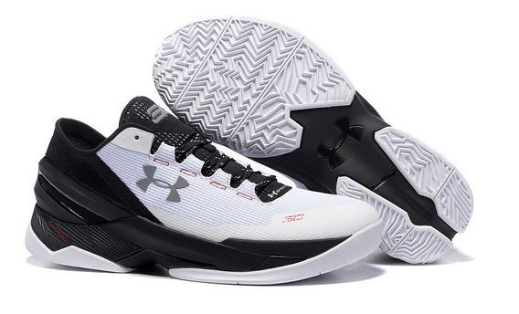 Tênis Ua Curry 6 Black White #pronta Entrega