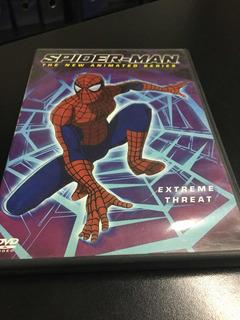 Dvd Spiderman Hombre Araña Extreme Threat S. Animada $ 500
