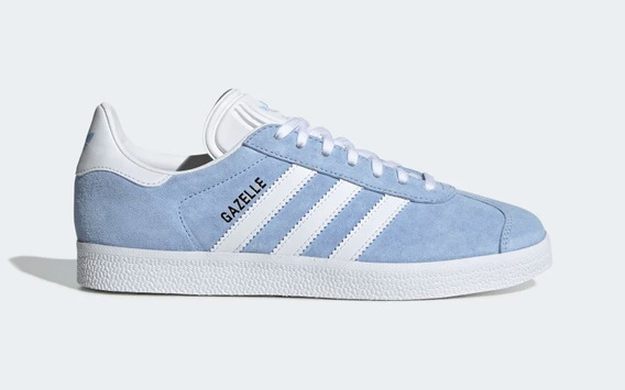 Tenis adidas Gazelle Feminino Azul 100% Original