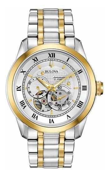 Reloj Bulova Caballero Modelo 98a230 - Nuevo