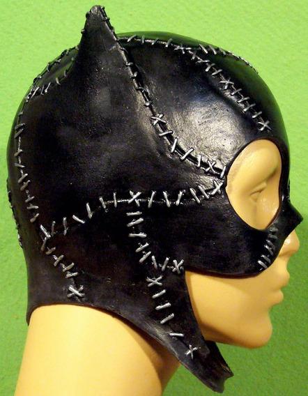 Máscara Gatúbela Catwoman Michael Látex Batman Disfraz