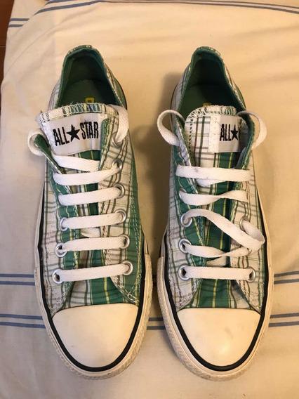 Converse Zapatillas Mujer Verde Cuadrille