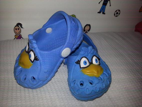 Sandália Infantil Galinha Pintadinha Azul Babuche Sapato