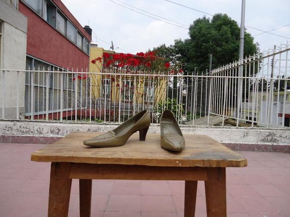 Zapato Dama Dione Verce Olivo