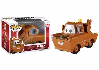 Funko Pop Mater 129 Cars Disney Original Nuevo Coleccionable