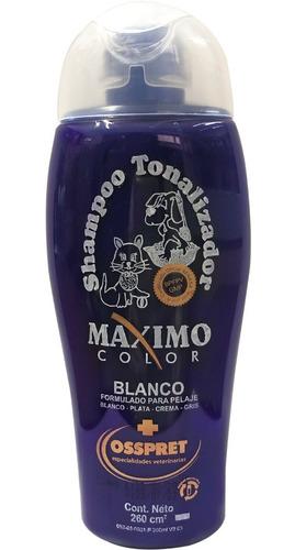 Shampoo Tonalizador Perros Y Gatos Osspret 250ml