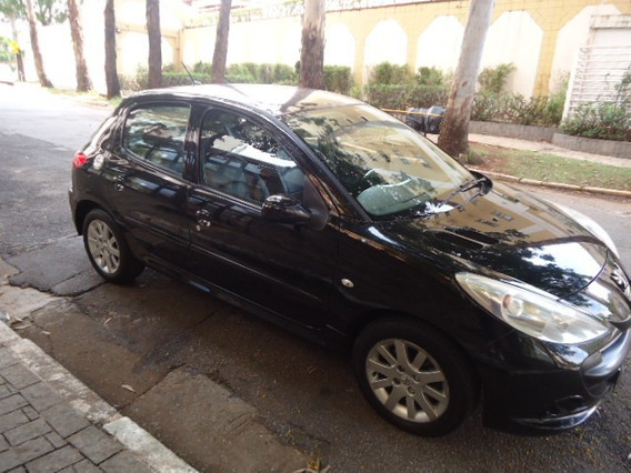 Peugeot 207 Xs 1,6 Preto 2011 Muito Novo