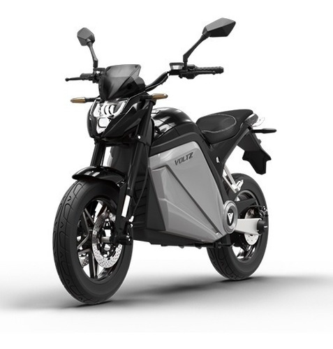 Imagem 1 de 12 de Moto Elétrica Evs Voltz Motors Preta - Uma Bateria