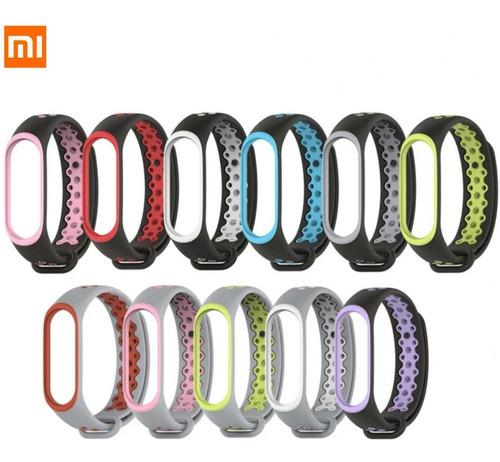 Pulseras Diseño Sport Para Xiaomi Mi Band 4 Y Mi Band 3