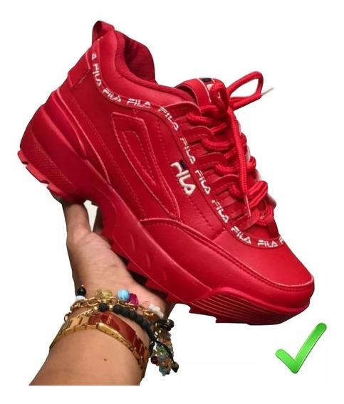 Compra > zapatos fila tenis rojos- OFF 74% - eltprimesmart ...