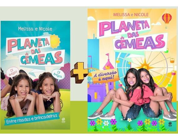 Kit Planeta Das Gêmeas - Melissa E Nicole - Frete A 15 Reais