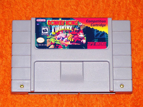Donkey Kong Country Competition Cartridge - Clássico - Snes