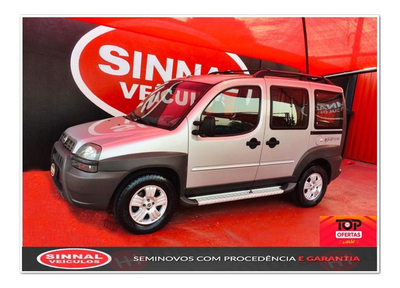 Fiat Doblò 1.8 Mpi Adventure 8v Gasolina 4p Manual