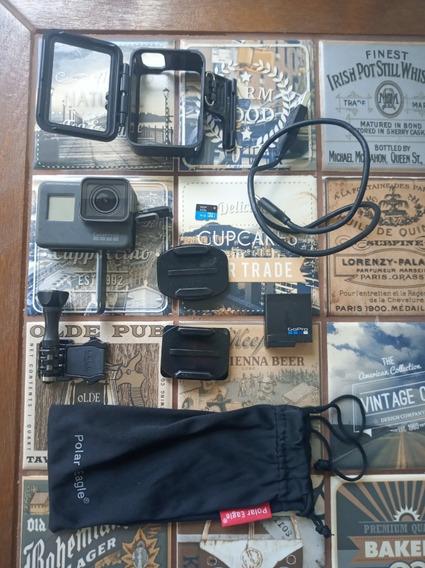 Câmera Gopro Hero 5 Black + Sd 16 Gb Classe 10 + Acessórios