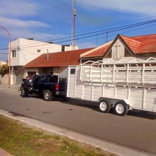 Trailer Para 8 Caballos 6x2.4m Pico Cigueña Financiamos