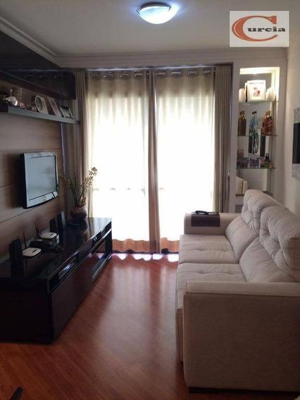 Apartamento Com 3 Dormitórios À Venda, 73 M² Por R$ 500.000 - Jabaquara - São Paulo/sp - Ap5630