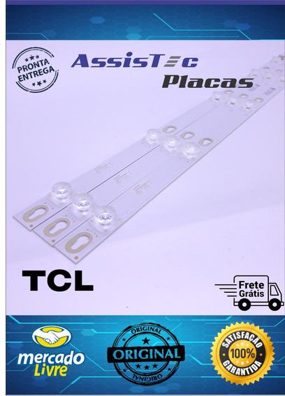 Conjunto Iluminação Tv Tcl L43s4900fs Original Com Garantia