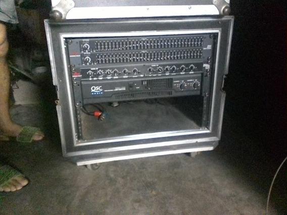 Rack Con Procesos Y Amplificador