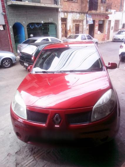 Renault Sandero, 1.0 16v, 2010, Completo, Em Ótimo Estado.
