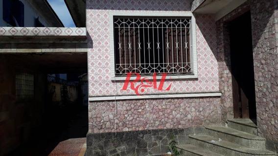 Terreno À Venda, 260 M² Por R$ 599.000,00 - Macuco - Santos/sp - Te0100