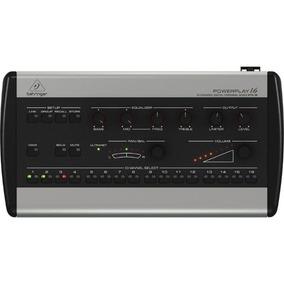 Mixer Pessoal Behringer P16-m 16 Canais P/ Sistema Powerplay