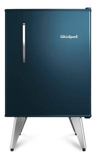 Heladera Whirlpool Retro - 76 Lts Midnight Blue - Wra09c2