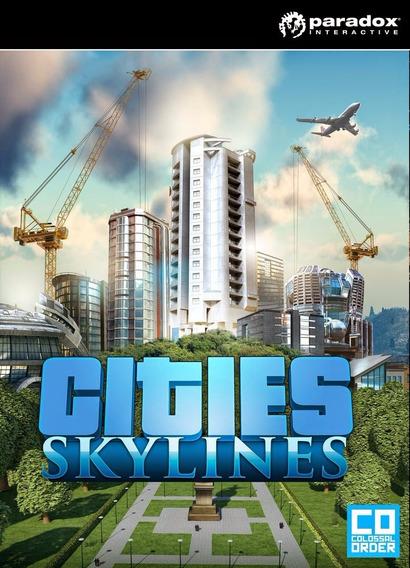 Cities Skylines Original Chave (key) De Ativação   Steam  