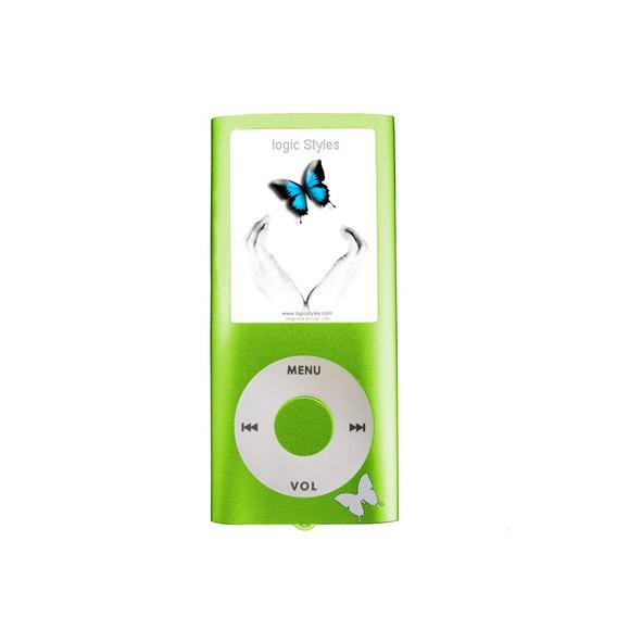 Mp4 Logic Fl670 Tf Entr P/micro Sd Tela 1.8 Verde