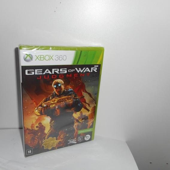 Gears Of War Judgment Xbox 360 Mídia Física Novo Lacrado