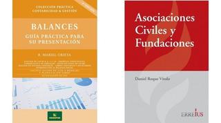 Pack Balances + Asociaciones Civiles Y Fundaciones Errepar