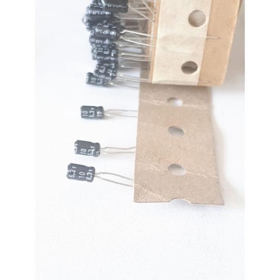 Condensador Electrolitico 10uf 6.3v 10mf 85ºc N Uso General