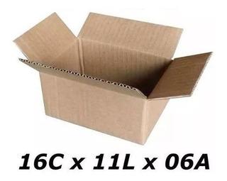 Caixa De Papelão 16x11x6 - Tipo Correio/sedex - 400 Pçs