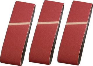 Set 3 Lijas Banda 75x533 Mm Varios Grano Lijadora 75x533mm