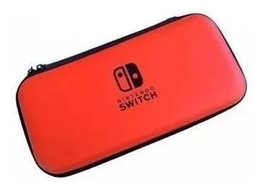 Nintendo Switch Case Bolsa Capa De Proteção Zelda - Vermelha
