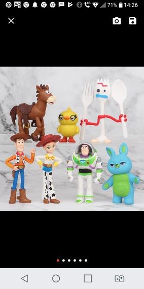 Kit Bonecos Toy Story 4 Pronta Entrega