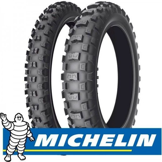 Pneu Traseiro 100/90-19 Cross Michelin Ac10