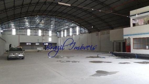Galpão/pavilhão Para Alugar No Bairro Campo Grande Em - Ga0015-2